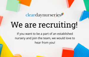 Nursery Assistant – Clearly Kids, Bangor