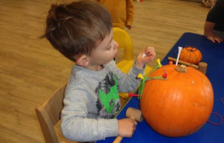 Pumpkin Fun at Clearly Kids