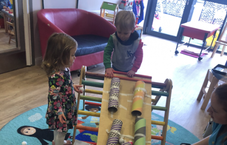 Rolling fun at Clearly Kids