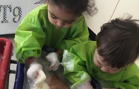 Babies Bath Time at Kids@BT9