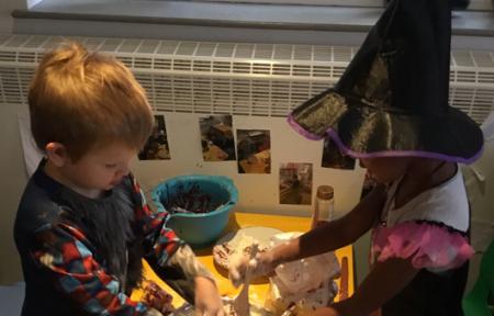 Halloween Spirit in Kids@BT9 Preschool