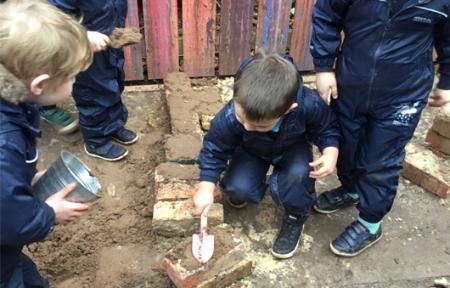 Construction Work at Kids@BT9