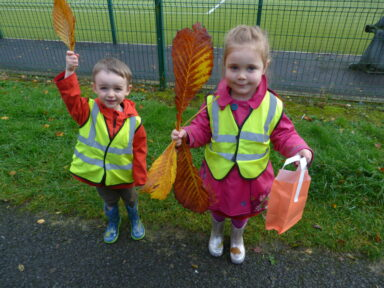 Autumn Walk at Edenvilla Park!